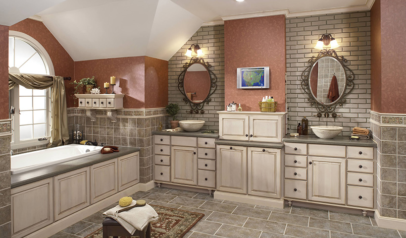 Kitchen bathroom cabinets store atlanta suwanee georgia Kraftmaid bathroom cabinets