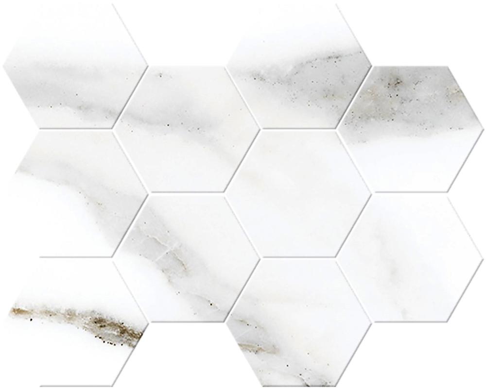 Alsacia Mosaic Hexagono Porcelain Tile 8 6 Quot X 10 2