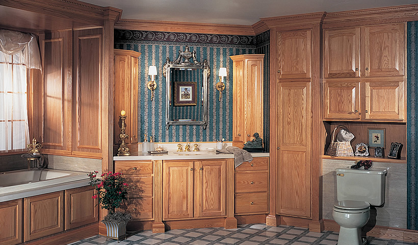 Cherry Paprika Kitchen Cabinets